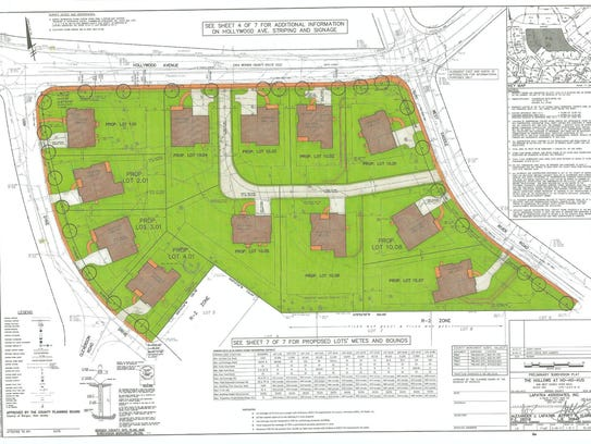 Chamberlain Developer's 12-house subdivision off Hollywood
