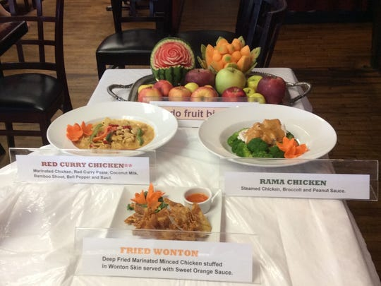 Samples from Kunya Siam Thai Restaurant  are served during a past Taste of Atlantic Highlands.