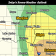 Severe weather in store for Sioux Falls region tonight