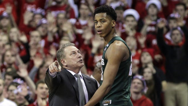 Would another year with coach Tom Izzo be best for Michigan State big man Deyonta Davis?