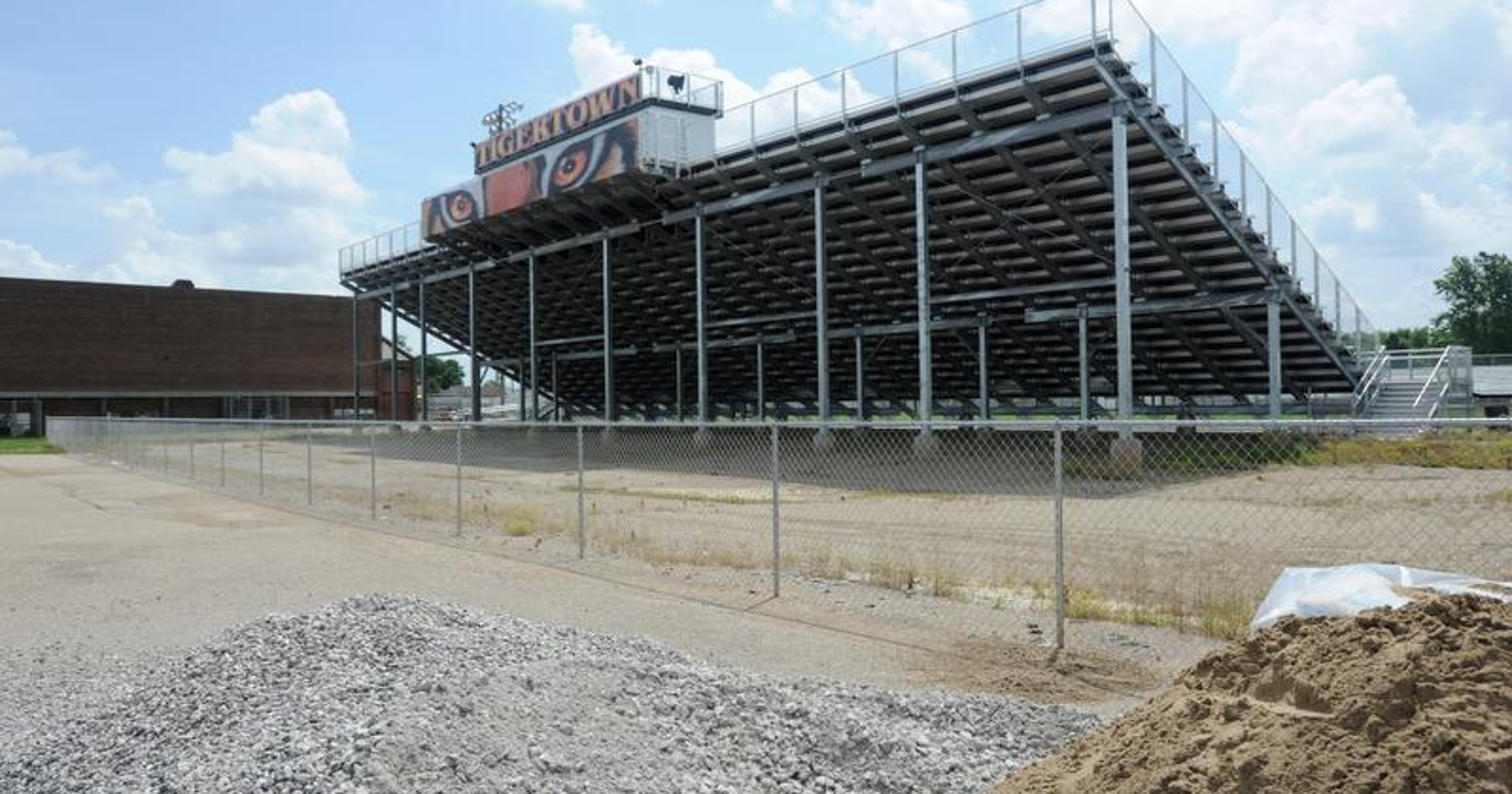Waverly stadium overhaul underway