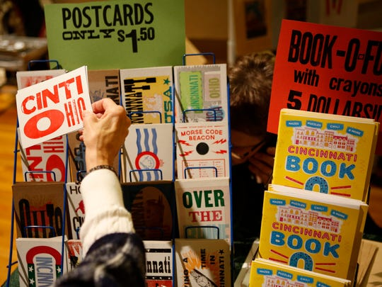 Steam Whistle Letterpress & Design sells postcards, greeting cards, art prints and stamps at the Crafty Supermarket.
