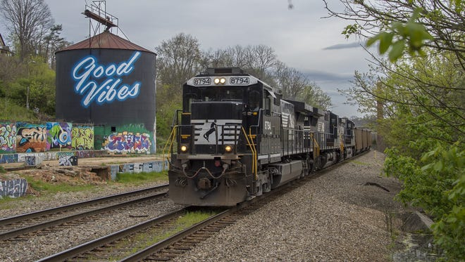 Norfolk Southern says its trains do block intersections at times to switch cars or because of mechanical problems or weather issues. But they make an effort to limit the time of the blockages.
