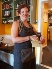Debbie Pirsos, owner of Bunbuy's Coffee Shop in Piermont.