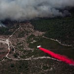 Golden Gate Estates fire grows fast to 4,800 acres, threatens homes