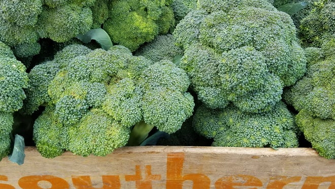 Broccoli from Paper Crane Farm.