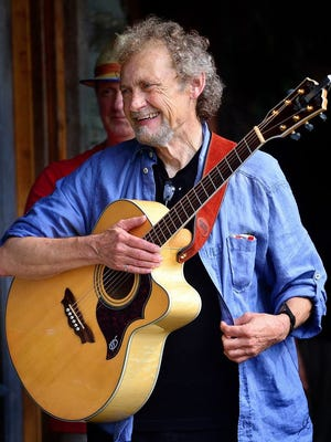 """Veteran Asheville songwriter and former Bele Chere organizer Dan Lewis describes his friend Mike Gaffney as a great undiscovered talent who's spent a lifetime quietly writing great songs. Listeners can discover those musical gems for themselves on Thursday, Sept. 28 at 7:30 p.m. when Gaffney makes a return visit to White Horse Black Mountain. Gaffney hails from the small cotton mill community of Worthville outside Greensboro but has been a fixture on the Asheville music scene for more than 35 years. His writing explores the ironies and absurdities of daily life, delivered in a folksy, laconic style underpinned by bluesy finger-picked guitar. Lately, he's been enjoying traveling around North Carolina, meeting interesting people, and """"doing what I enjoy - which is almost everything."""" Tickets to the show are $8 advance/$12 door."""