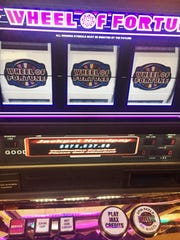 A Wheel of Fortune Double Diamond at Greektown Casino-Hotel in Detroit.