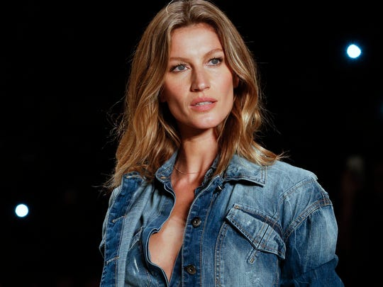 Brazilian supermodel Gisele Bundchen wears a creation from the Colcci Winter collection at Sao Paulo Fashion Week in Sao Paulo, Brazil. Bundchen, who has been lighting up catwalks around the world for the past 20 years, is retiring from the runway.