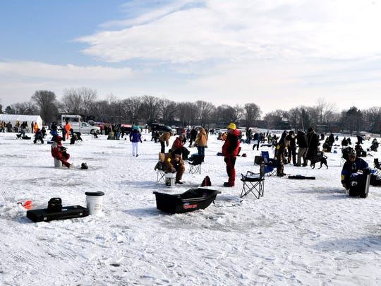 About 680 anglers attended the 22nd annual Ice Fishing Contest hosted by the St. Joseph Rod & Gun Club.