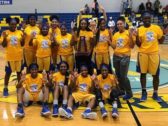 Rickards' girls basketball team won its 10th consecutive