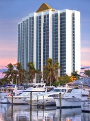 Rendering of the water view of the remodeled Amtel
