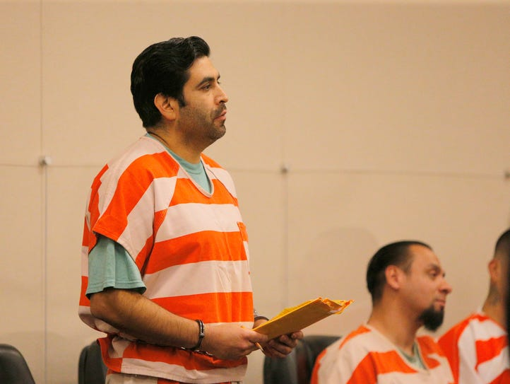 Jose Castaneda appeared in court for sentencing on