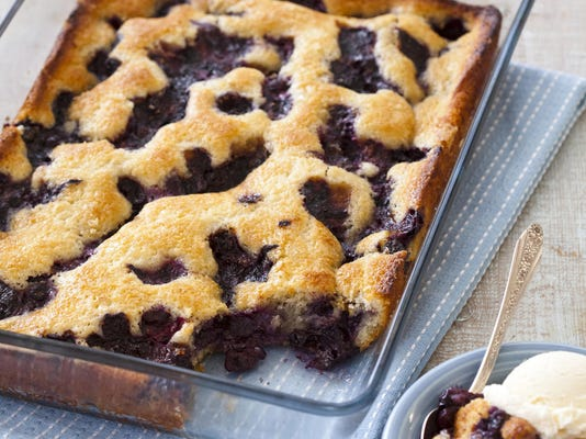 Food Column ATK Texas Style Blueberry Cobbler