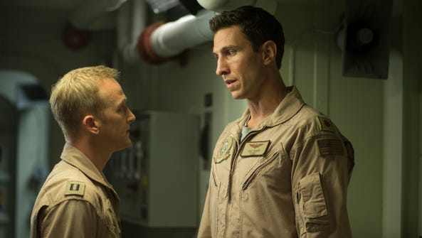 Eric Ladin, left, and Pablo Schreiber  are pilots in