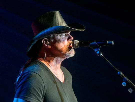 Country singer Trace Adkins will perform a free concert at the Grainger County Tomato Festival at 7 p.m. Saturday on the football field behind Rutledge Middle School.