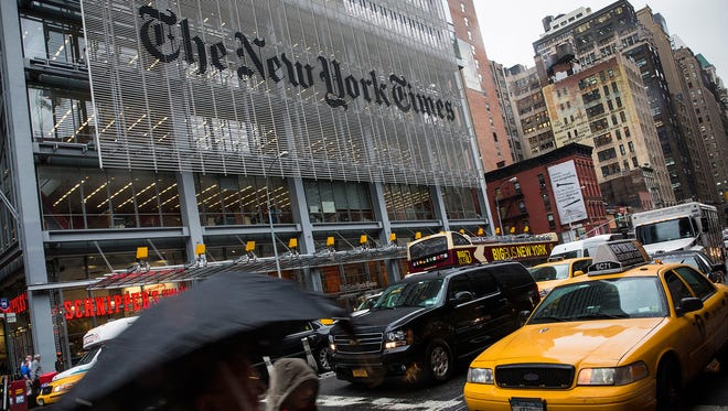 Despite 70% of The New York Times Co.'s revenue coming from the paper product, in five years, according to Robert Thompson, digital revenue will surpass print.