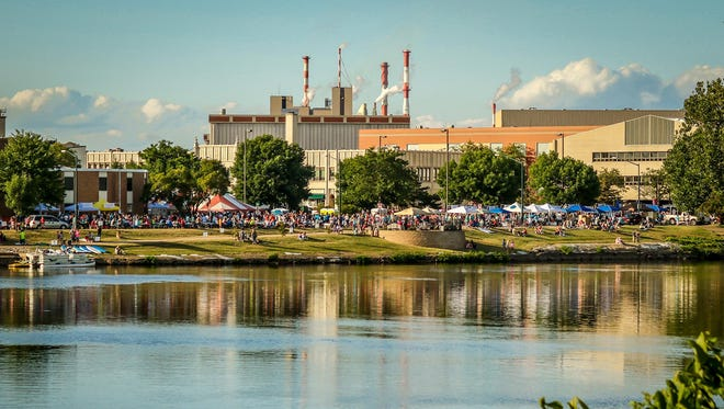 A Wisconsin Rapids community picnic on Aug. 5 along the Wisconsin River.