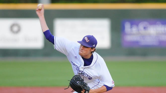 Evan Tidwell pitched Northwestern State to a win over Nicholls State.