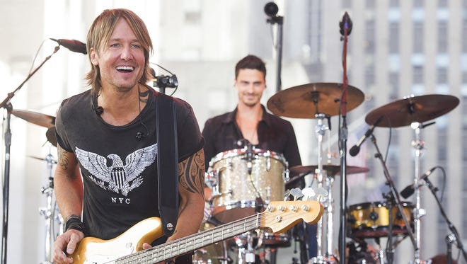 Keith Urban will perform on June 4 at Klipsch Music Center.