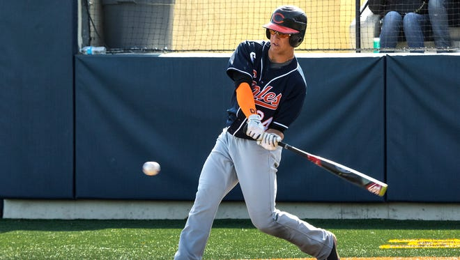 Potential Reds draft pick Blake Rutherford is a high school outfielder for Chaminade Prep in California.