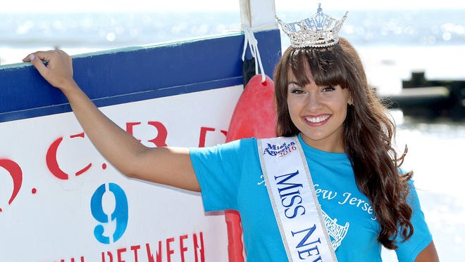 Brenna Weick of Mantua won the Miss New Jersey pageant.