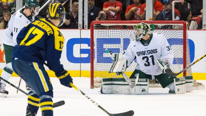 Michigan State went on the road and lost to No. 5 Minnesota, 4-0, on Saturday night.
