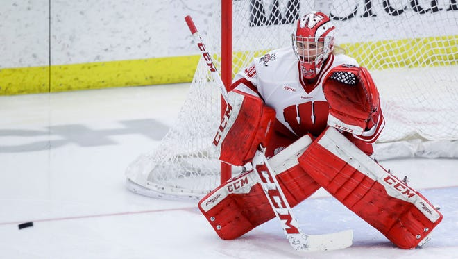 Wisconsin goalie Ann-Renee Desbiens has recorded 17 shutouts and a 29-1-4 record this season.