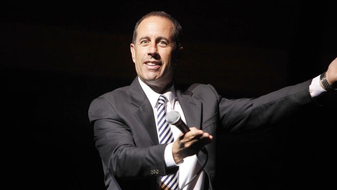 Jerry Seinfeld will perform Oct. 26 at Old National Centre.