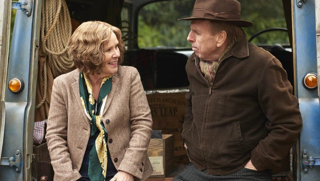 """Imelda Staunton and Timothy Spall star in """"Finding Your Feet."""""""