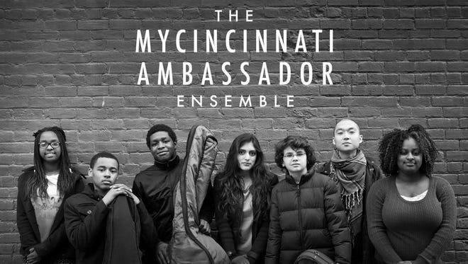 The MYCincinnati Ambassador Ensemble is a string sextet of young Price Hill musicians led by violinist, MYCincinnati assistant director, and Cincinnati Art Ambassador Fellow Eddy Kwon.