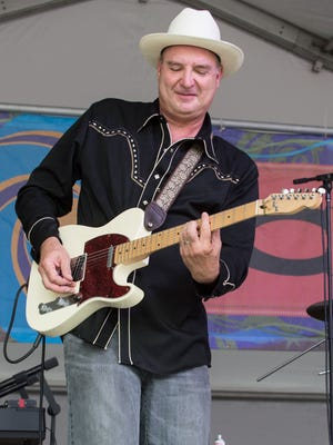 Guitarist Blake Castille of Opelousas will be inducted into the Hall of Master Folk Artists this weekend.