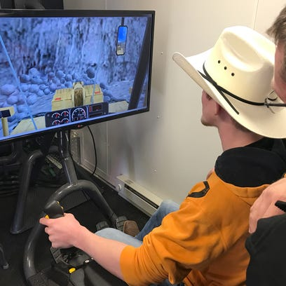 A hands-on lesson in heavy machinery