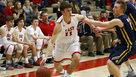 Michael LaPree and the Wausau East boys basketball team received a No. 1 seed in Division 2 for the WIAA boys basketball playoffs.