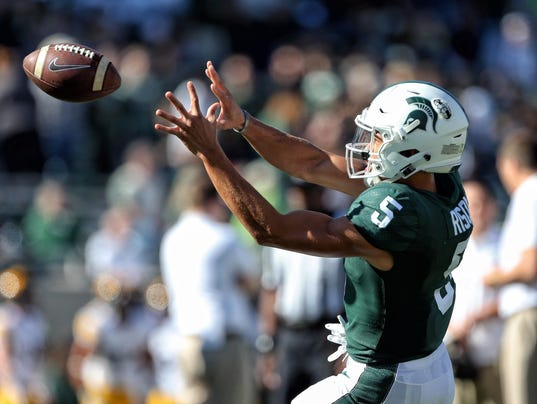 NCAA Football: Iowa at Michigan State