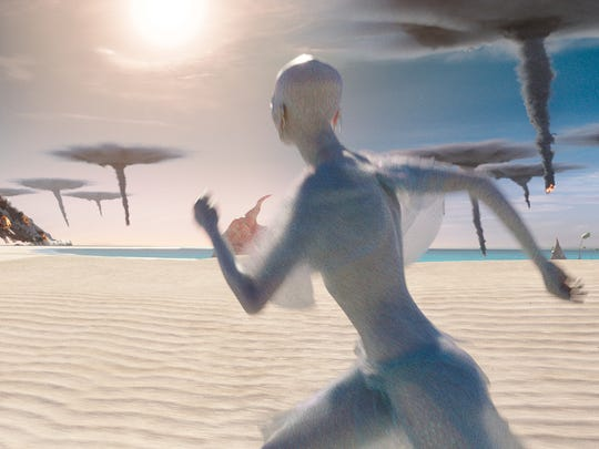 """This image released by STX Entertainment shows a scene from """"Valerian and the City of a Thousand Planets."""""""