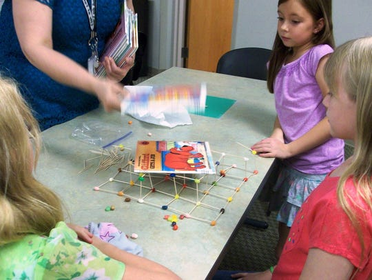 Kids will learn how to make a supportive tower out