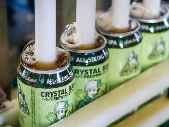 Crystal Ball Brewing has been using a mobile canning