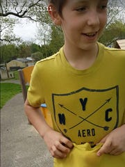 Brayden Sturgeon, 11, was reported missing to police Monday.