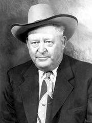 Sheriff Dick Hancock in the 1950