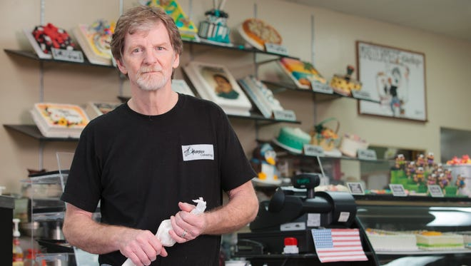 Jack Phillips, owner of Masterpiece Cakeshop in Lakewood, CO is at the center of a Supreme Court case that will be heard in early December. He refused to design a custom wedding cake for a gay couple based on his religious beliefs, claiming First Amendment freedom of expression.