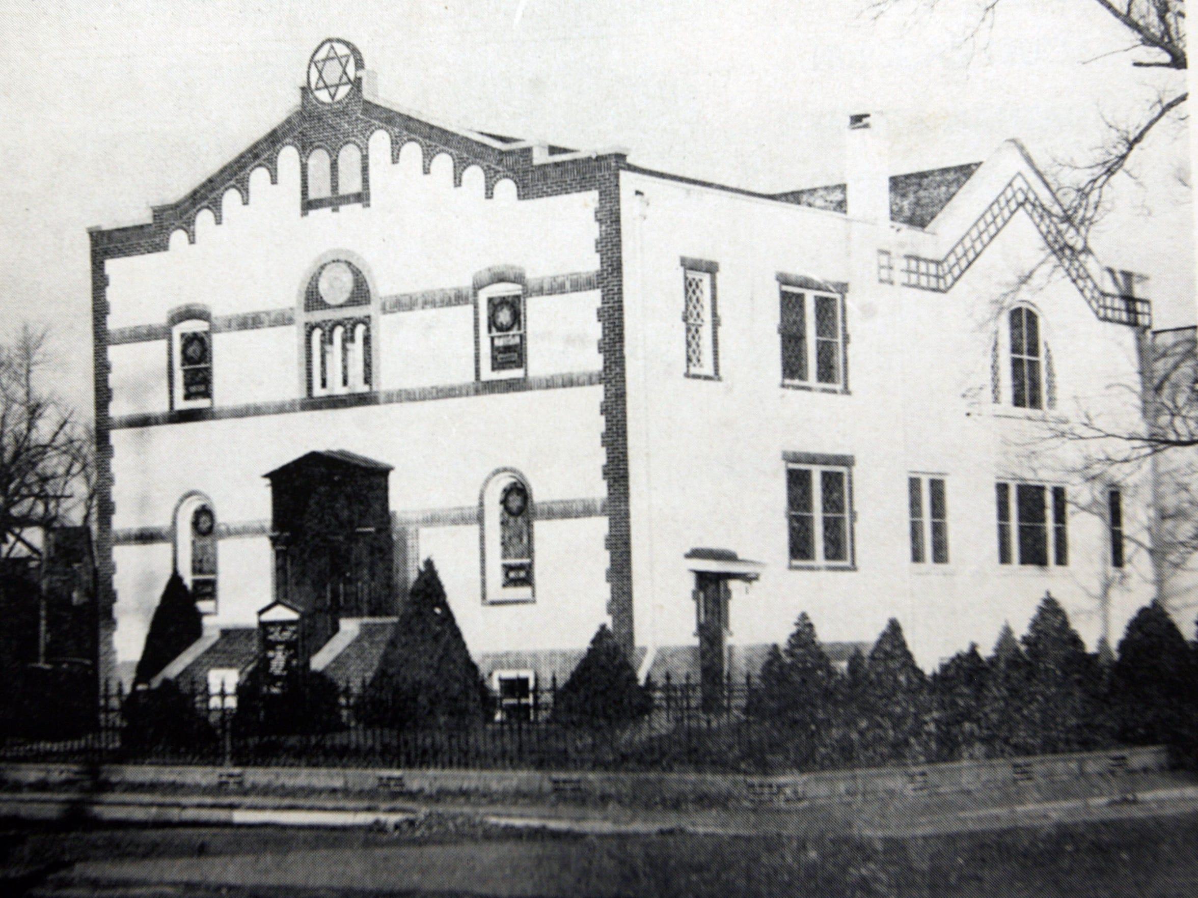 First Orthodox Synagogue, Lakewood, N.J. Circa 1950's.