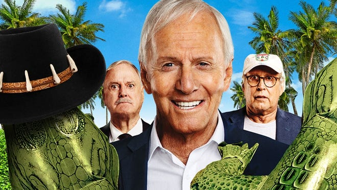 """""""The Very Excellent Mr. Dundee"""" starring Paul Hogan."""
