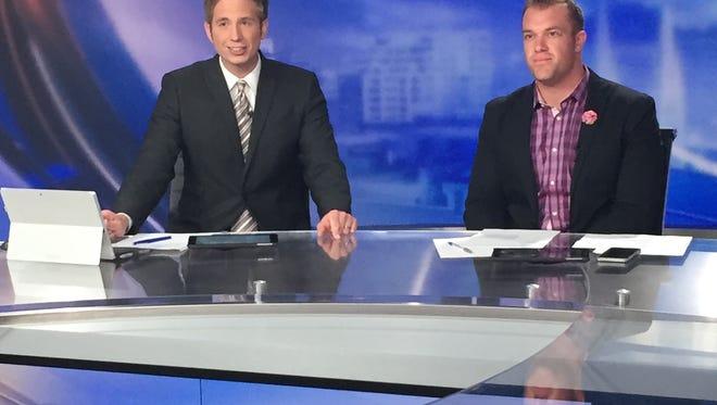 Colts long snapper Matt Overton joined CBS4 anchor Matt Smith for the evening.