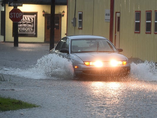 Flooding in Opelousas