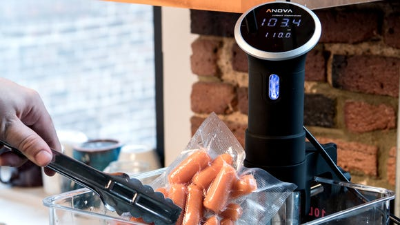 Cook anything to perfection with sous vide.