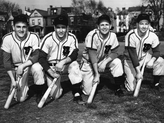 1953 University of Cincinnati baseball. Ike Misali
