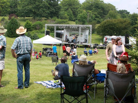 Spectators enjoyed a variety of bands at the 2015 Leilapalooza Music Festival.