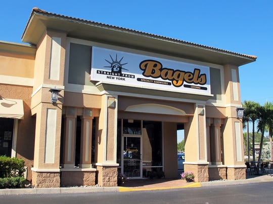 The new Straight From New York Bagels, 24830 U.S. 41 S., suite 2100, in Bonita Springs.