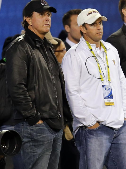 Phil Mickelson,Tim Mickelson